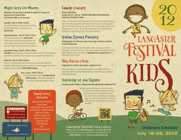 festival brochure design - 18 best images about kids brochures on pinterest art