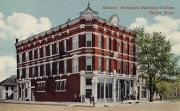 """...where nothing's over three stories high..."" Kansas Wesleyan Business College, Salina, Kansas 1920s"