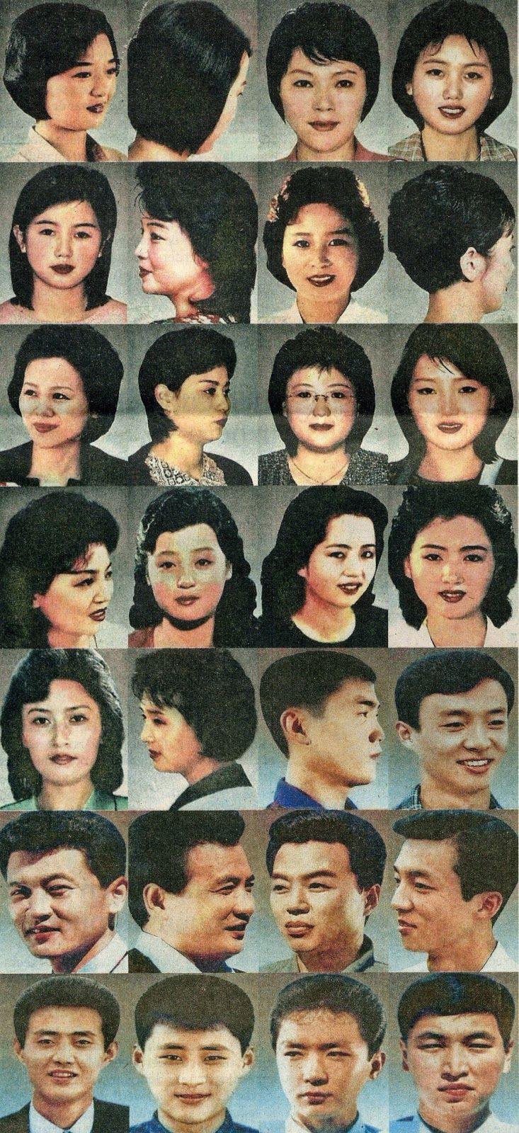 Hair Style In North Korea : North korea, Korea and US states on Pinterest