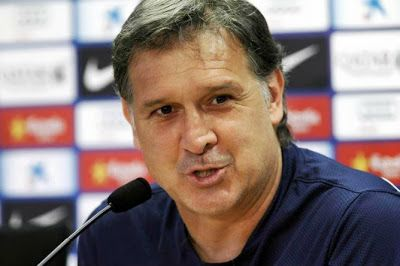 Best Football Coachs: Barcelona coach Martino: Messi returned to his level before the Clasico... Milan won more than it's worth…. And Iniest...