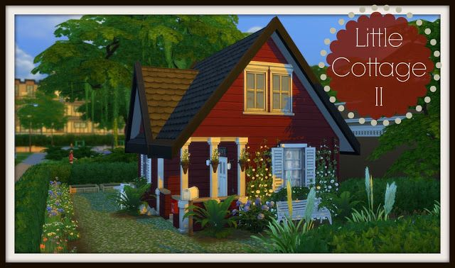 Sims 4 - Building on Newcrest - Little Cottage II