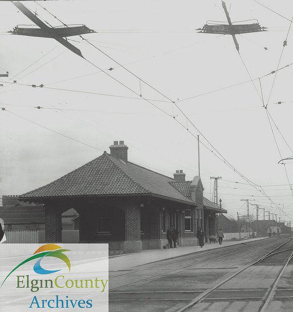 London & Port Stanley Railway station, St. Thomas, 1928   Flickr - Photo Sharing!