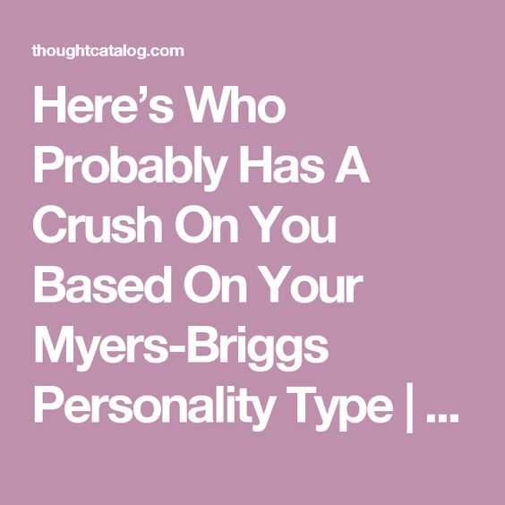 """dating site based on mbti personality type The myers-briggs is one of the most popular personality assessments, used by hiring managers at many companies, some government agencies, and even some other online dating sites these tests will categorize you into a certain """"type"""" of personality, either giving you 1 of 16 types, labeling you as a """"caregiver"""", """"idealist."""