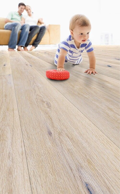 High-definition digital direct printed cork flooring. Great looks on a quiet and warm floor. By Granorte