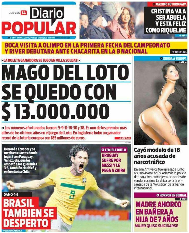 Diario Popular ( Argentina )