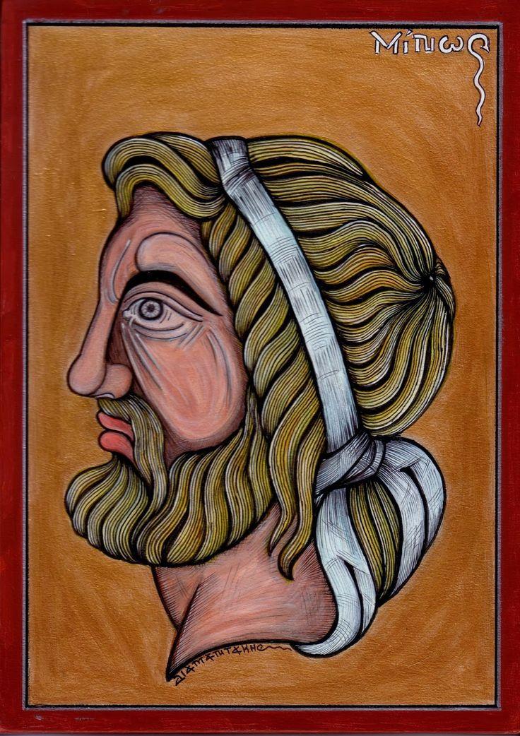 ΜΙΝΩΑΣ.....ήταν βασιλιάς της Κρήτης. Το βασίλειο του Μίνωα περιελάμβανε ολόκληρη την Κρήτη, που είχε εκατό πόλεις, και τις Κυκλάδες, που λέγονταν Μινωίδες. Πρωτεύουσα του μινωικού βασιλείου ήταν η Κνωσός....