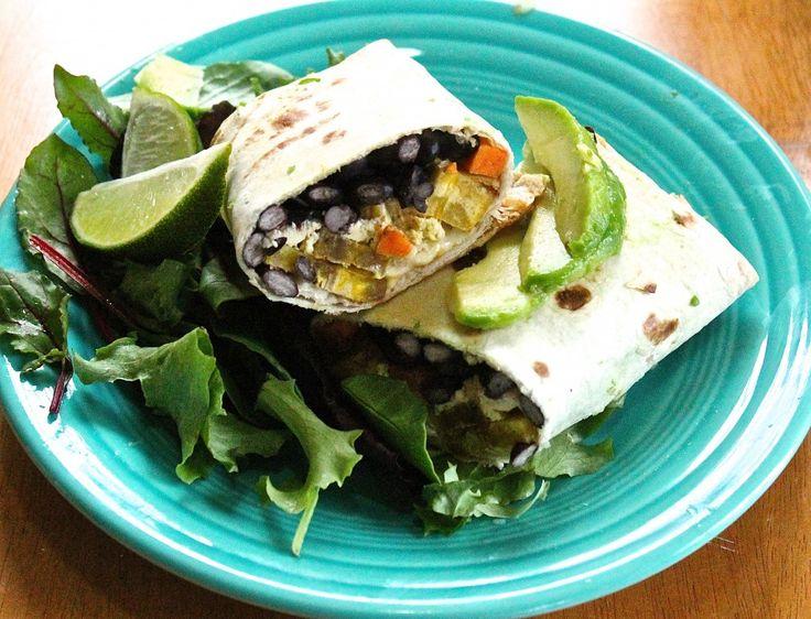 Vegan Cuban Breakfast Burrito   The Sweet Life