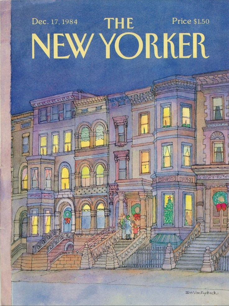 The New Yorker Cover Artwork