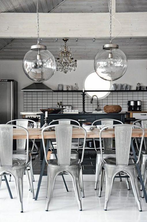 *bellaMUMMA: home inspiration: INDUSTRIAL KITCHENS
