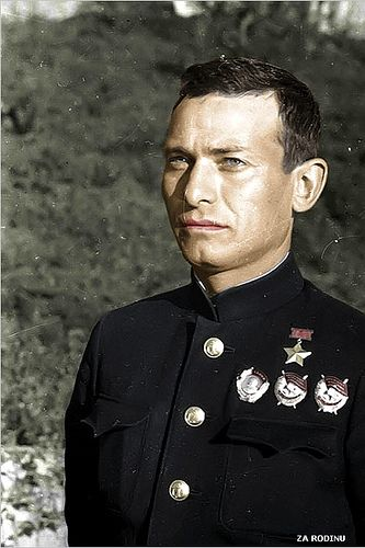 Israel Ilyich Fisanovich - Hero of the Soviet Union, commander of the submarine M-172 - ww2 | Flickr - Photo Sharing!