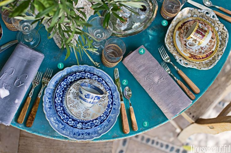 Experience the Gorgeousness I 5 Steps to Creating a Vintage, But Elegant, Brunch Table  - HouseBeautiful.com
