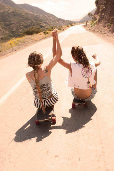 Avoir les mêmes délires et tout partager voilà ce qu'est une vraie amitié