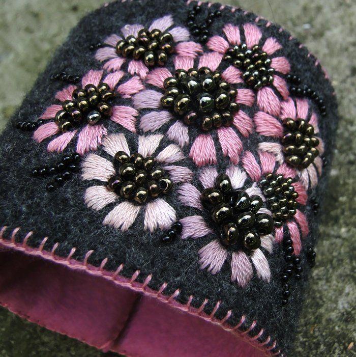 beauty flowers  pink (sprzedawca: agat.handmade), do kupienia w DecoBazaar.com