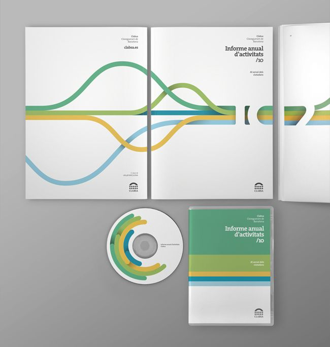 Annual report / Collateral / Visual language