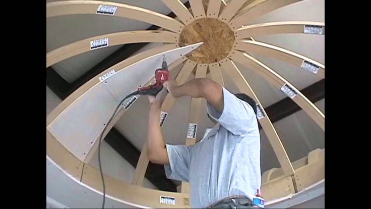 How to Drywall a Dome Ceiling with Archways & Ceilings Made Easy & Construction Site 施工 视频 穹顶 吊顶