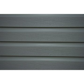 Clin en PVC Solid gris, long. utile 3.95m
