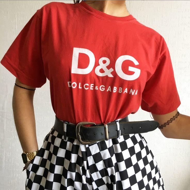 Look what I just found on Depop ✋ https://depop.app.link/At4cX0TxUC 90s vintage dolce gabbana street style
