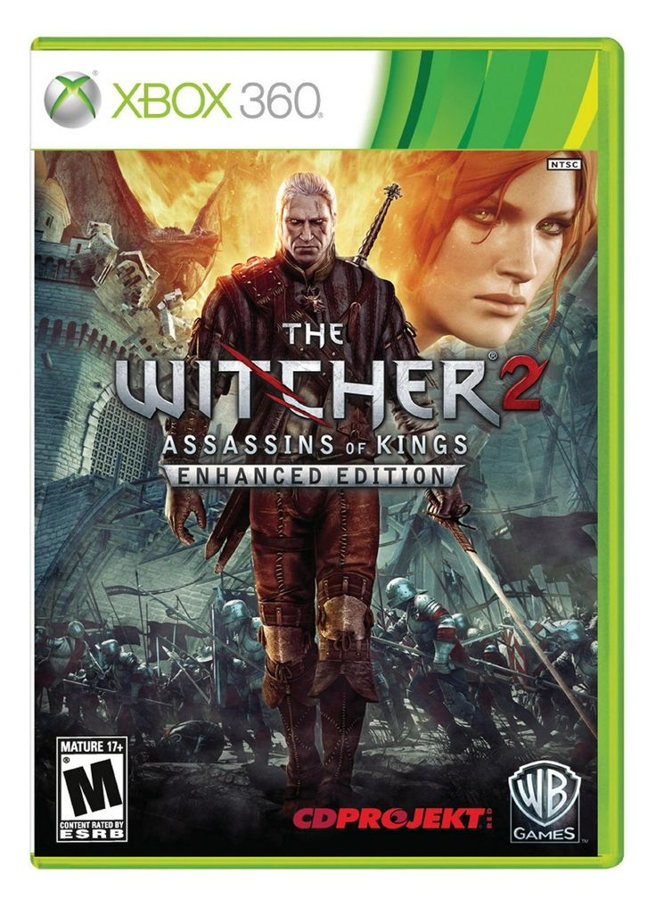 Amazon.com: The Witcher 2: Assassins Of Kings Enhanced Edition: Xbox 360: Video Games