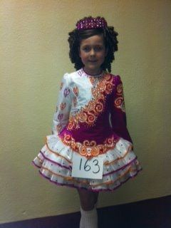 Pretty Pink Kilkenny Creations Irish Dance Dress Solo Costume For Sale