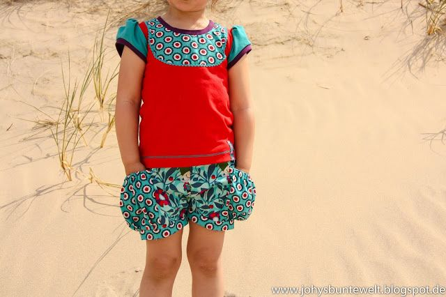Johy - Bunte Welt: Der Sommer kann kommen - Bubble Pocket Shorts