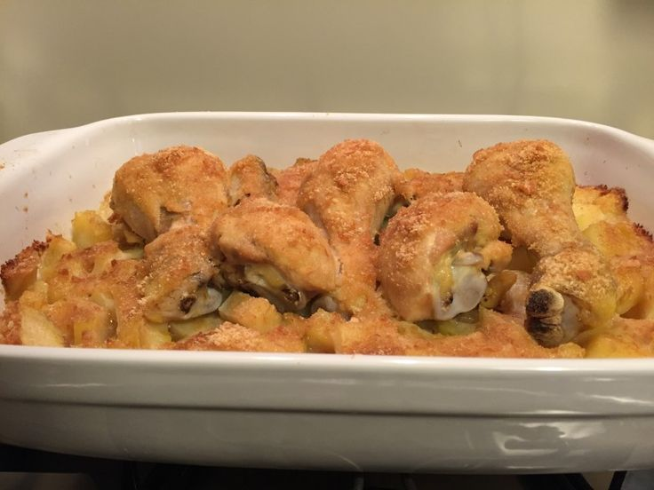 Pollo+al+forno+(ricetta+secondo+piatto)