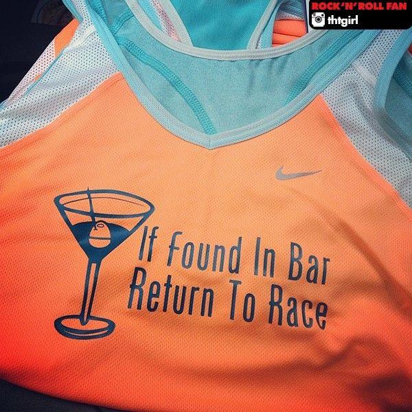If found In Bar, Return to Race Get more running motivation on Favorite Run Facebook page - https://www.facebook.com/myfavoriterun