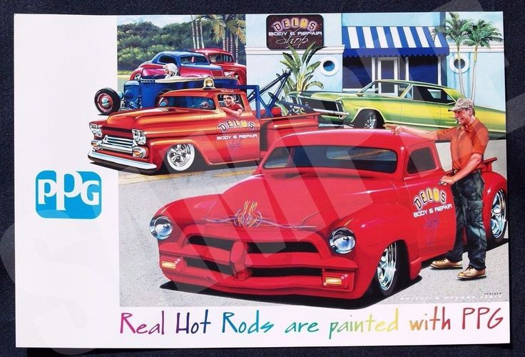 2013 PPG Industries Limited Edition Poster by Darrell D Mayabb