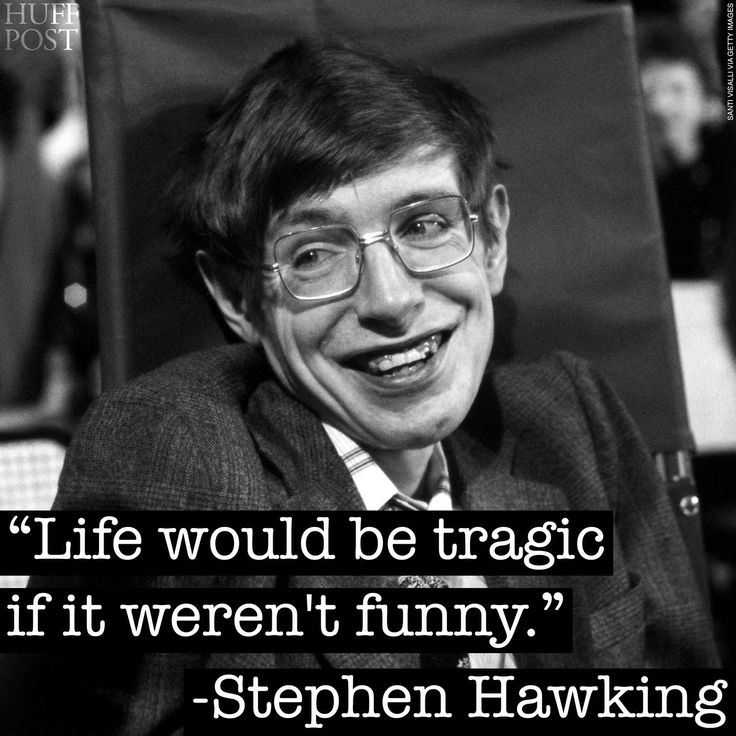 Stephen hawking - on life.