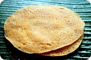 Sarkarai Valli Kizhangu(Sweet Potato) Dosai is my mom's recipe.She makes dosai in both sarkarai valli kizhangu and also in Maravalli Kizhangu(Tapioca).This dosai doesn't require fermentation.It is one of the easiest tiffin preparation even for beginers.You can try this recipe in Maravalli Kizhangu(Tapioca) also.Here is the recipe… Sweet Version: Ingredients: 1 cup Idly Rice 1/4 cup...Read More »