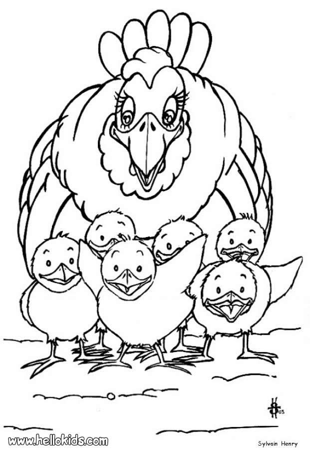 Best 25+ Farm animal coloring pages ideas on Pinterest | Farm ...