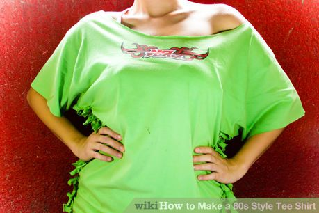 Image titled Make a Totally Rad 80S Style Tee Shirt Step 9