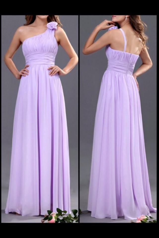 Lilac bridesmaids dress | Fashion | Pinterest