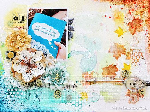 Simply Paper Crafts: Art Journal Do Something New