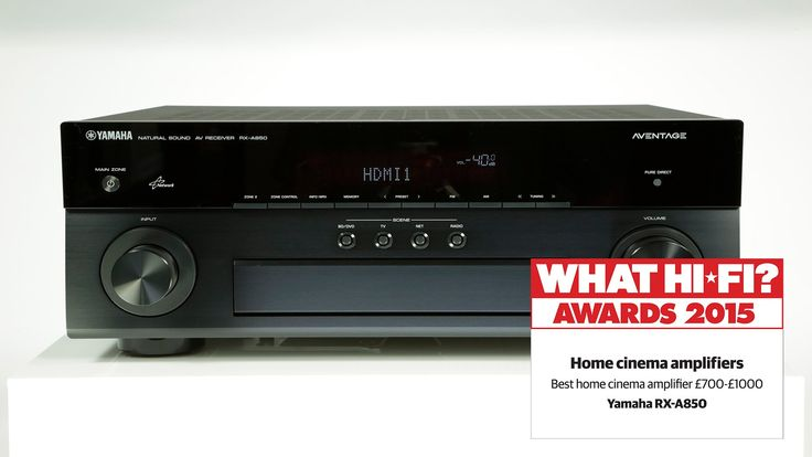 Best home cinema amplifier under £1000 - Yamaha RX-A850