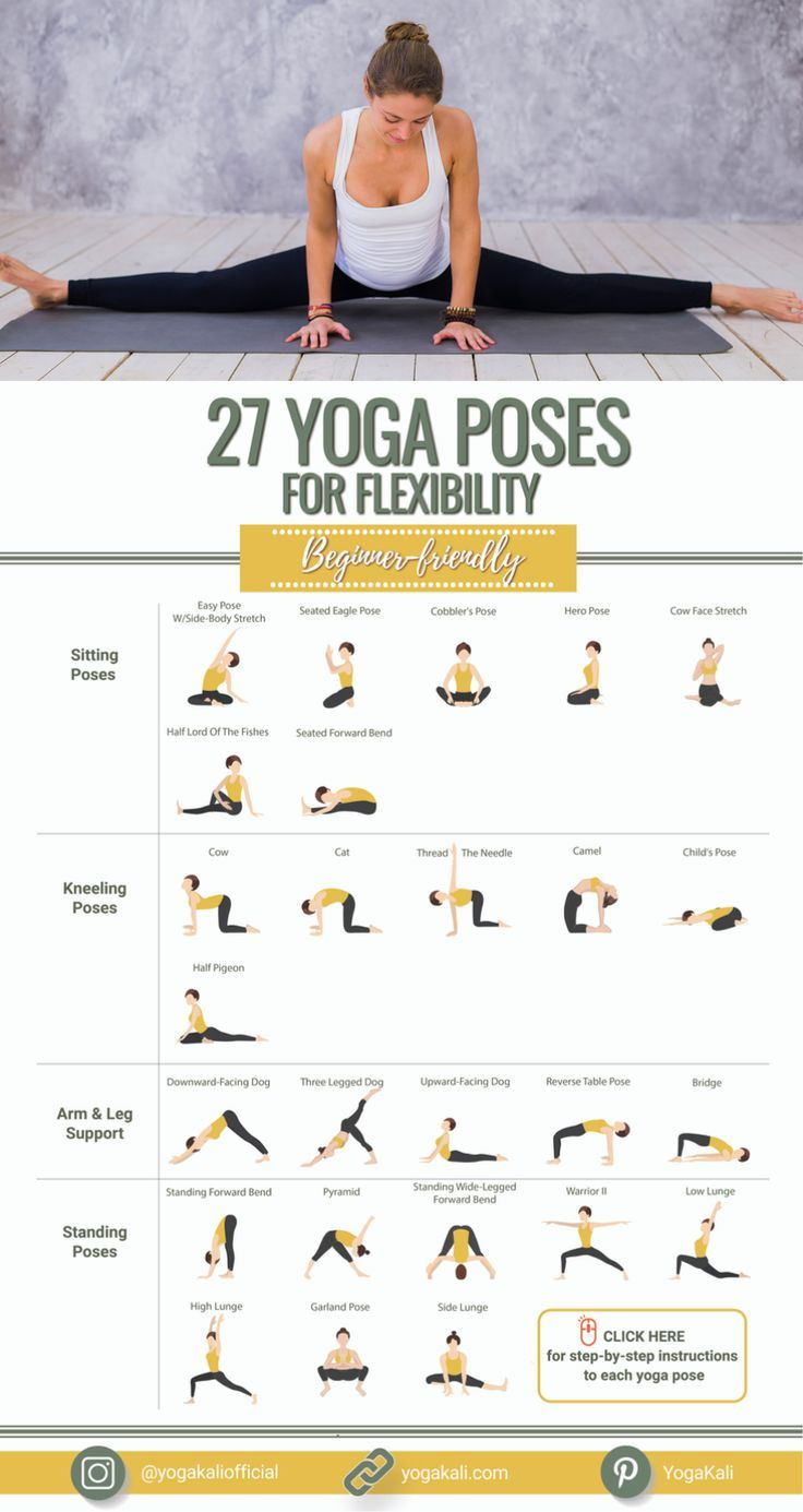 46 Easy Beginner-Friendly Yoga Poses For Flexibility in 46  Top