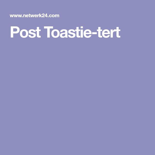 Post Toastie-tert
