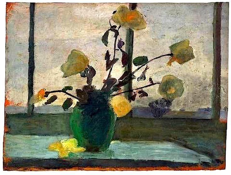❀ Blooming Brushwork ❀ garden and still life flower paintings - Paula Modersohn Becker