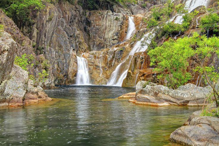 Behana Gorge - Clam Shell Falls