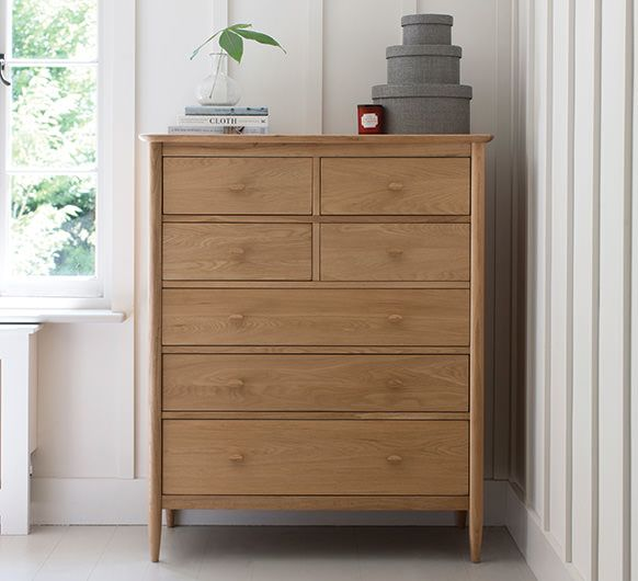 7 Drawer Tall Wide Chest Wide Chest Of Drawers