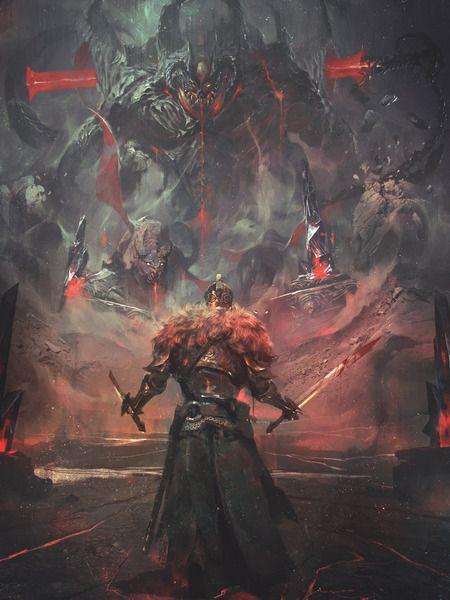 - Dark Souls 2 - fan art.