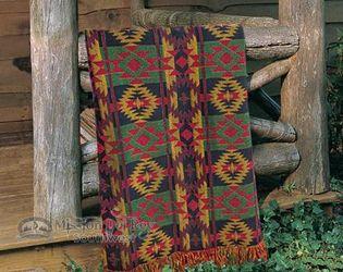 Southwestern Throw 50x60 -Cozy Cabin (t52)