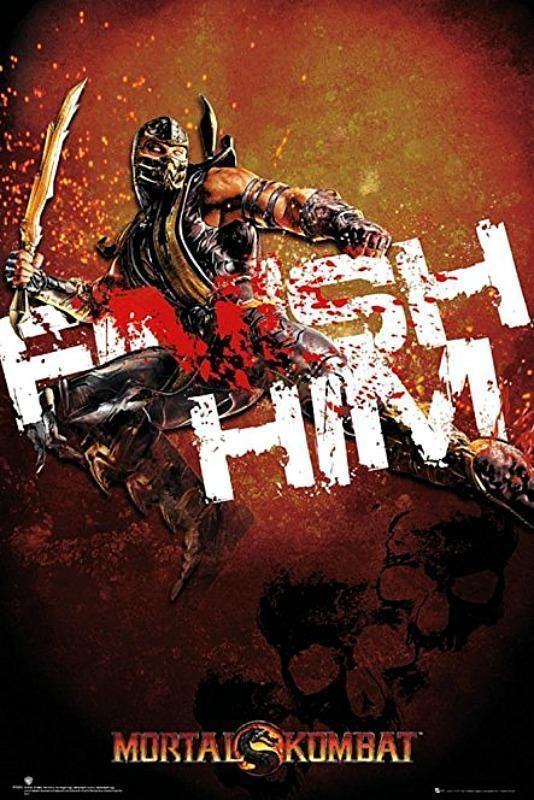 Mortal Kombat : Finish Him - Maxi Poster 61cm x 91.5cm new and sealed