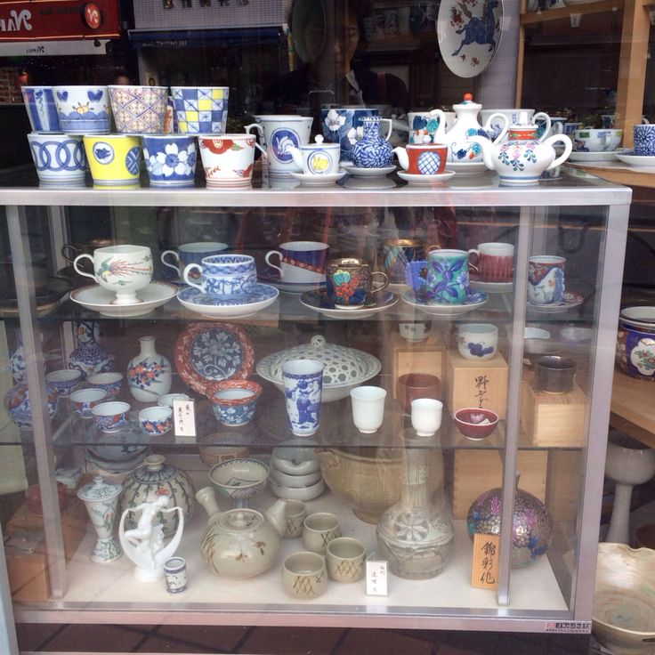 a shop of Arita ware in Kichijoji