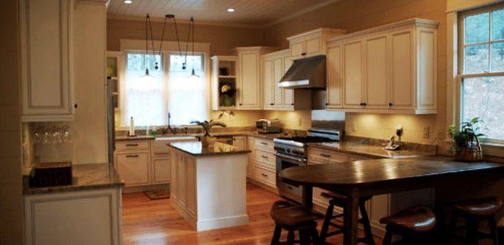 gambar kitchen set elegan