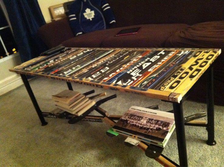 252 best Hockey Furniture images on Pinterest | Hockey ...