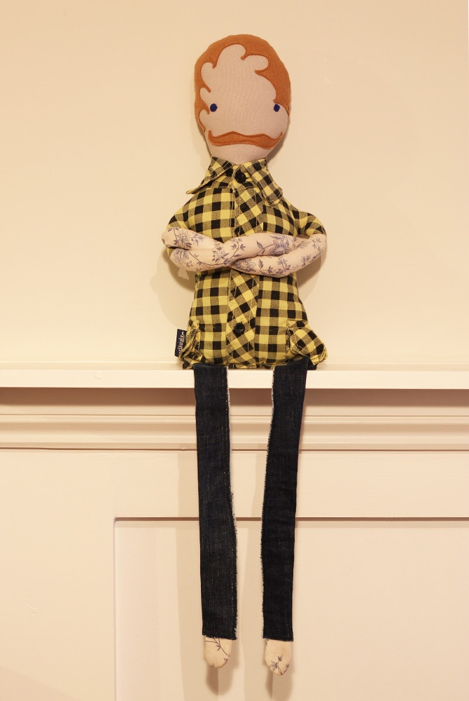Tommy Tash - Tattoo Edition from http://elbojobo.com/collections/tommy-tashmen/products/tt011#  #mandoll #handmade #doll