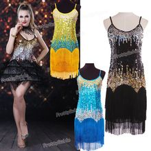 2015 Free shipping Women's 1920s Ombra Sequin Fringe Flapper Gatsby Costume Dance Dress |  China Sales Express