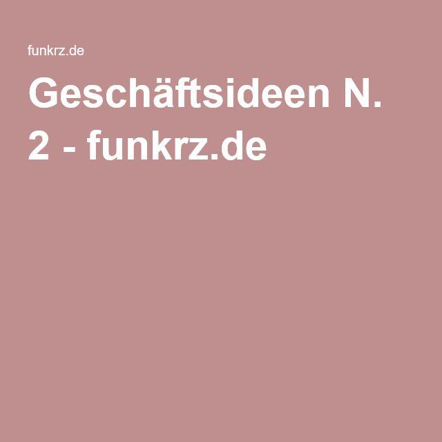 Geschäftsideen N. 2 - funkrz.de