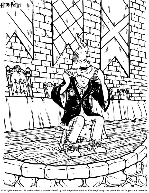 180 Best Coloring Pages To Print Harry Potter Images On The Coloring Page