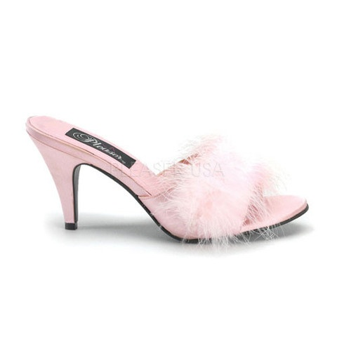Those fuzzy bedroom slippers in four sexy colors!!!